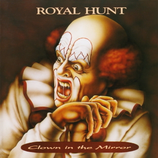 Royal Hunt clown in the mirror